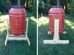 How to Make a Barrel Compost Tumbler