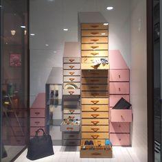 "HERMES, (Isetan Shinjuku), Tokyo, Japan, ""I'll wear it today and then put it back in my Safe Deposit Box"", pinned by Ton van der Veer"