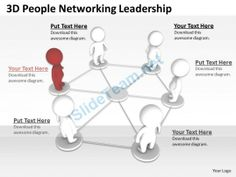 3D People Networking Leadership Ppt Graphics Icons #Powerpoint #Templates #Infographics