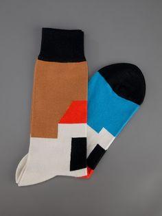 Henrik Vibskov 'House' socks