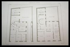 European Apartment, Town House, Paris, Rue, Apartments, House Plans, Floor Plans, Houses, French