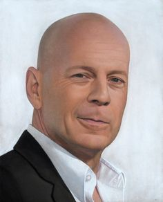 My favorite Bruce Willis. I adore him! by Lizapoly on DeviantArt