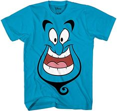 Shop a great selection of Disney Aladdin Genie Big Face Smiling Disneyland Tee Funny Graphic Adult T-Shirt. Find new offer and Similar products for Disney Aladdin Genie Big Face Smiling Disneyland Tee Funny Graphic Adult T-Shirt. Disney Aladdin Genie, Tribal Print Pattern, Worlds Best Dad, Big Face, Liner Socks, Disney Mickey, Tshirts Online, T Shirt, Shirt Men