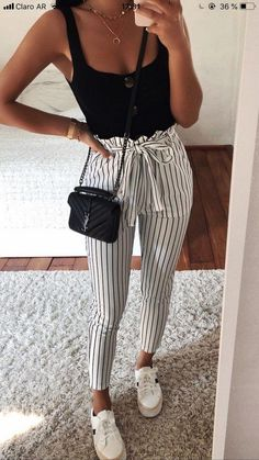 Over 30 beautiful summer outfits that you can copy now cute fashion ideas for this fall Teenage Outfits, Teen Fashion Outfits, Mode Outfits, Cute Fashion, Look Fashion, Outfits For Teens, Girl Outfits, Fashion Ideas, Fall Fashion