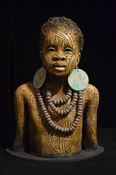 76 best images about Woodrow Nash African American Art, African Art, African Sculptures, Sculpture Clay, Ceramic Sculptures, Ceramic Figures, Afro Art, Inspirational Artwork, Paperclay