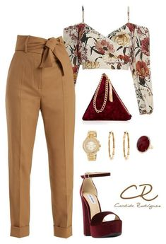 A fashion look from October 2017 by candida-rodriguez-alba featuring Sara Battaglia, Steve Madden, Street Level, Gucci and MICHAEL Michael Kors Mode Outfits, Fashion Outfits, Womens Fashion, Fashion Trends, Dress Outfits, Ankara Fashion, Couple Outfits, Jeans Fashion, Petite Fashion