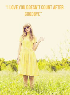 "Taylor Swift secret messages in the lyrics book. State of Grace- ""I LOVE YOU DOESN'T COUNT AFTER GOODBYE"""