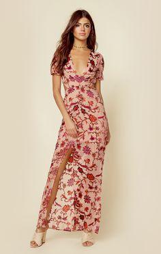 Saffron Maxi Dress | For Love and Lemons | Planet Blue