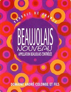 Beaujolais Nouveau is primarily a red-wine region generally made from the Gamay grape, though some white and sparkling rosé are also produced. It is situated in central East of France following the river Saone below Burgundy and above Lyon. There are 12 appellations in Beaujolais including Beaujolais AOC and Beaujolais-Villages AOC and 10 Crus: Brouilly, Regnié, Chiroubles, Cote de Brouilly, Fleurie, Saint-Amour, Chénas, Juliénas, Morgon and Moulin-a-Vent. The Beaujolais region is also…
