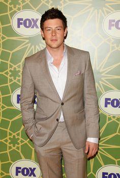 Cory Monteith, awkward but still love him