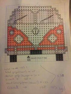 Pdf pattern for a crocheted splitty campervan shoulder bag C2c Crochet, Crochet Cushions, Crochet Pillow, Tapestry Crochet, Crochet Toys, Crochet Stitches, Pixel Crochet Blanket, Cross Stitching, Cross Stitch Embroidery