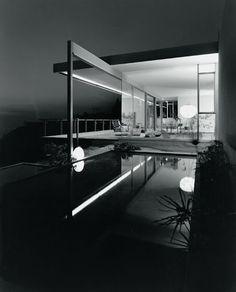 Chuey House  Los Angeles, California, 1958  Architecte Richard Neutra, 1956  Photographe : Julius Shulman