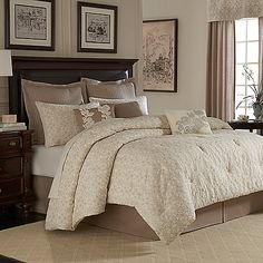 Royal Heritage Home™ Sonoma Comforter Set In Ivory