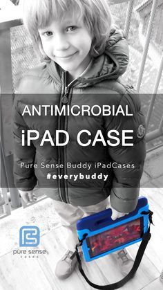 The world's first antimicrobial iPad case. The Buddy iPad Case - Rugged, Drop Proof Protective Case for Apple iPad provides total protection for your iPad. Because we're new, we need your help to spread the word. In exchange for your willingness to share, you can get a FREE Buddy iPad Case to try. http://prelaunch.puresensecases.com/?ref=3d4c1290ed