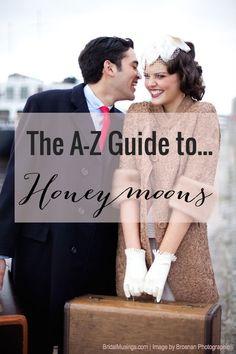 Honeymoon Ideas for Every Couple | Bridal Musings Wedding Blog