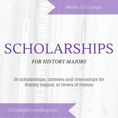 20 college scholarships, contests, and internships for History majors, as well as history lovers.