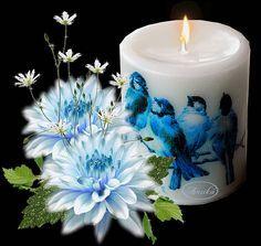 GIFS HERMOSOS: velas encontradas en la web