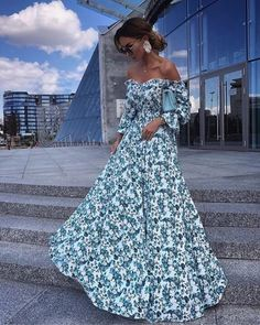 Date Outfit Ideas: Elegantly Dress up For a Date the Victoria-Fox Way Sexy Dresses, Beautiful Dresses, Nice Dresses, Short Dresses, Floral Maxi Dress, Dress Up, Date Outfits, Fashion Outfits, Vestido Strapless