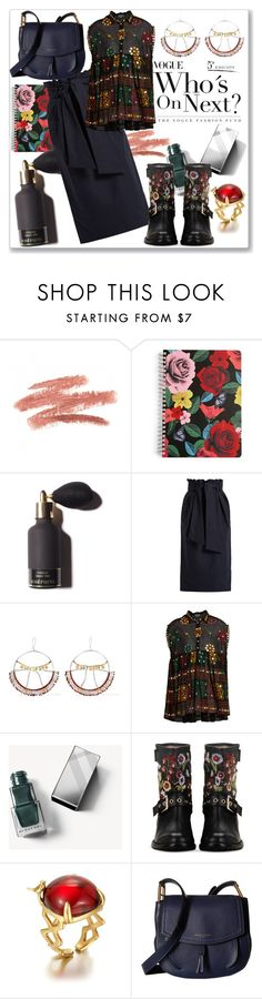 """""""Flowers Style"""" by ludmyla-stoyan ❤ liked on Polyvore featuring Vera Bradley, Gabriela Hearst, Scosha, Juliet Dunn, Burberry, RED Valentino, Marc Jacobs, Flowers and print"""