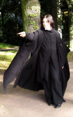 Snape cosplay by *fantasiearm