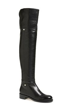 Free shipping and returns on Jimmy Choo 'Deron' Over the Knee Biker Boot (Women) at Nordstrom.com. Minimalist goldtone hardware furthers the sophisticated aesthetic of a glazed-leather over-the-knee boot infused with a bit of biker attitude.