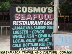 Landmark in Negril Jamaica — Been going to Cosmo's since I was an itty bitty little girl…