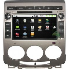 Aftermarket OEM Android Car Stereo GPS Navigation System for Mazda 5 with 3G Wifi DVD Radio Bluetooth USB SD Rearview-1