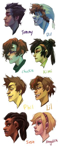 Rugrats in their 20's by Leerer-Raum on deviantART