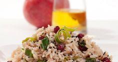 Risotto porri e melograno  #Star #ricette #ricettedastar #food #recipes #riso #yummy #foodporn #delicious #foodie #eat #foodgasm #foodpic #cookin #melograno #olive #porri
