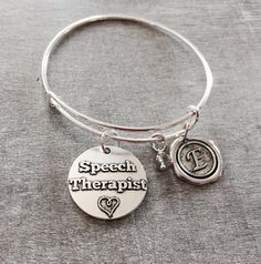 Speech Therapist bracelet Gifts for Speech therapists by SAjolie