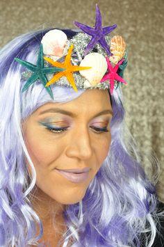 Halloween Makeup : Mermaid Inspired Makeup For Halloween Tutorial Halloween Mermaid, Halloween Tutorial, Makeup Inspiration, Makeup Ideas, Mermaid Makeup, Woman Painting, Halloween Makeup, Beauty, Inspired