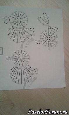 """Коврик """"Цветочная полянка"""" - запись пользователя Марина в сообществе Вязание крючком в категории Вязаные крючком аксессуары"""
