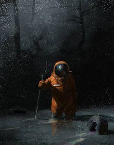 ArtStation - Последний герой, by Rem Boreyko