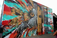 While we last heard from him in Los Angeles, Meggs is now in Hawaii where he spent the last days working on this new Street Art collaboratio...