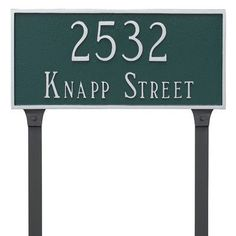 Montague Metal Products Classic Rectangle Two Line Address Plaque Finish: Chocolate/Gold