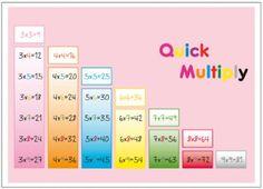 4x4, Multiplication, Bar Chart, Activities, Blog, Maths, Windows, School, Children