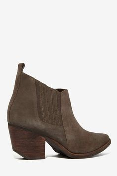 Nasty Gal Bandido Suede Bootie - Shoes | Ankle