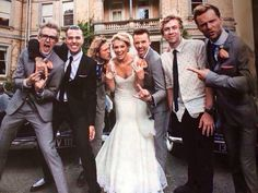 Danny Georgia Jones Wedding With A Boys From Mcbusted