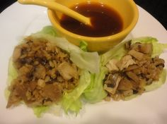 Brown Rice and Chicken Lettuce Wraps