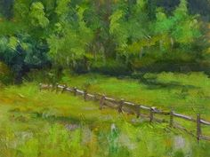 Green Valley, painting by artist Pam Holnback