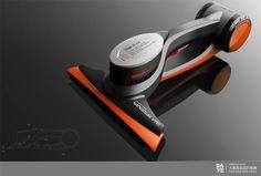 大业设计集团|中国十佳工业设计公司-汉生|卧式吸尘器系列-产品中心