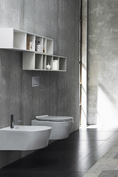 New Rimless Wall Mount Toilet Designed For Modern Bathrooms With A Small  Footprint, Water Savings And Now An Open Rim For Maximum Hygiene And Easy  Cleaning.
