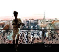 Французская художник-иллюстратор Sophie Griotto - MyPage