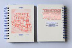 Open Books — Design by Sophie Demay & Lola Halifa-Legrand