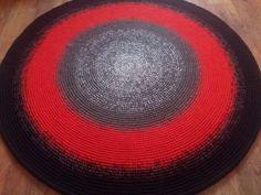 Large crochet round rug, 62'' (158 cm)/Crochet Rug/Rugs/Rug/Area Rugs/Floor Rugs/Large Rugs/Handmade Rug/Carpet/Wool Rug by AnuszkaDesign on Etsy