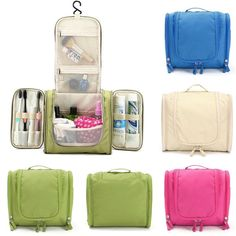 Multifunction Travel Wash Cosmetic Bag Makeup Storage Hanging Case