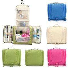 $12.99 Multifunction Travel Wash Cosmetic Bag Makeup Storage Hanging Case - Newchic
