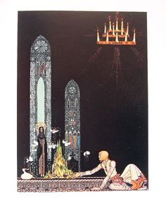 Kay Nielsen Fairy Tale Illustration - 1975 - The Giant Who Had No Heart in his Body 2
