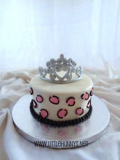 Princess cheetah cake