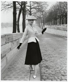 Dior 1950 | Pictures of Dior's New Look in 1950 | oil's fashion blog !!!